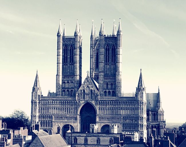 Cathederal Religion Spirituality History Sky Tourism Outdoors Day Cityscape