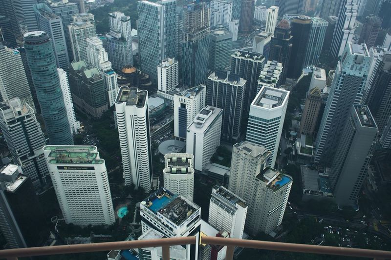 Skyscraper City Cityscape Architecture Building Exterior Modern Aerial View Tower Downtown District Urban Skyline Crowded Built Structure High Angle View City Life Growth Travel Destinations Tall Outdoors Day Office Park The Architect - 2017 EyeEm Awards Neighborhood Map