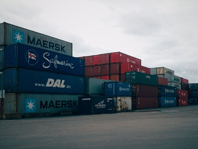 Shipping Containers Portland North Portland Array Boxes Industry Industrial Shipping  Commerce Trade