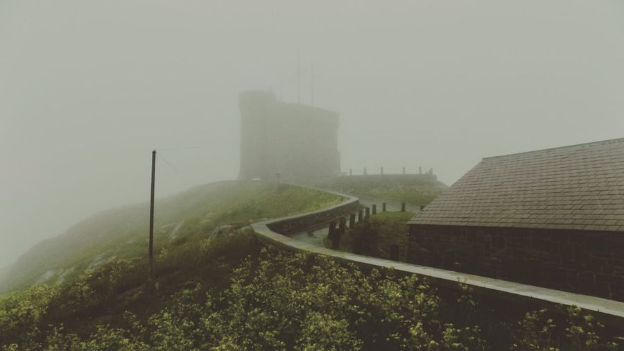 Fog Fog City RDF Rain Drizzle And Fog Summertime In Newfoundland NLWX St. John's, NL Newfoundland Canada East Coast Of Canada Signal Hill National Historic Site Cabot Tower Nikon Nikon Photography NikonL340