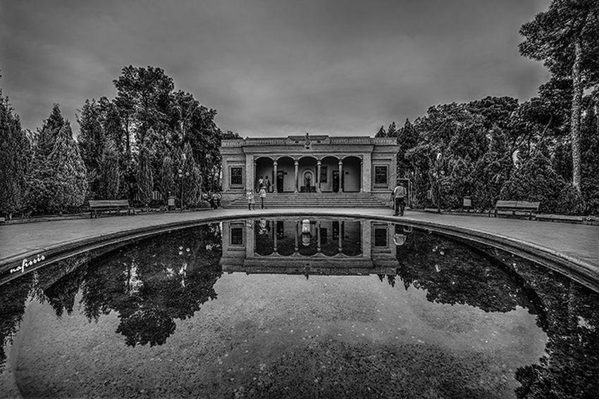 Yazd Fire Tomb Zartosht Garden Iran
