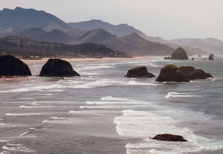 Sand Northewest PNWonderland Hiking Mountain Sea Nature No People Scenics Outdoors Landscape Beach Sky
