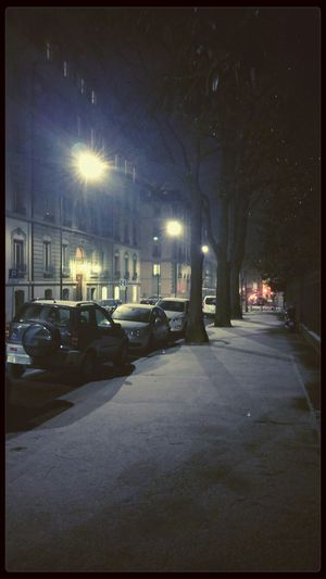 Feeling the first flurries of snow... Snow Winter Nightphotography Like A Child