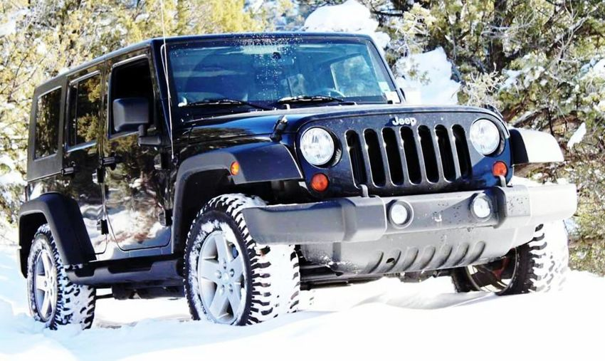 Jeep Wrangler Unlimited Snow Nature Outdoors Cold Temperature Payson, AZ