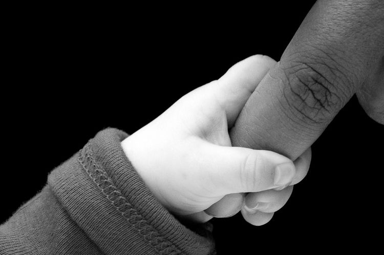 Black Background Close-up Human Body Part Human Hand Love Mother & Daughter Mother And Son One Person People Pleading Tighten