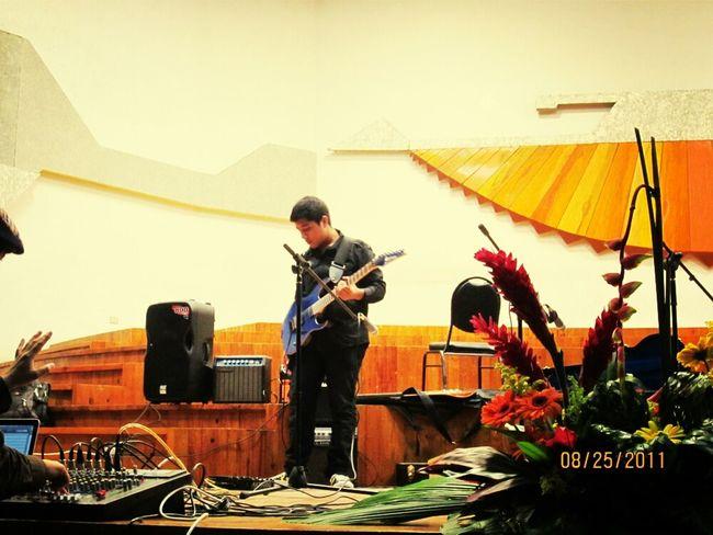 PlayingGuitar IbanezRg ConservatorioNacional