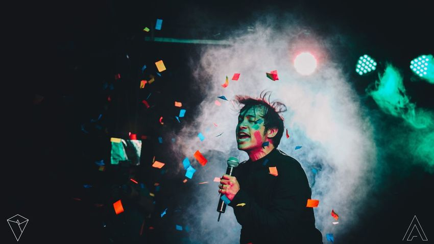 Be. Ready. Music Music Callalily Kean Cipriano Multi Colored Fun Smoke - Physical Structure Night Enjoyment Concert