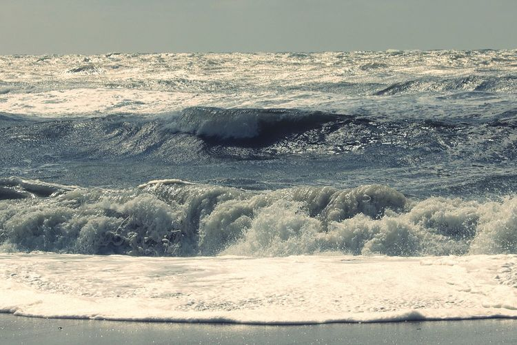 Rough Sea Water