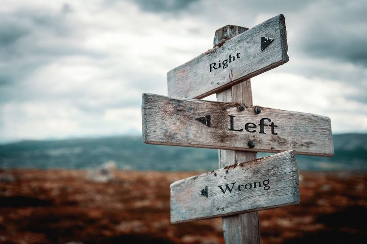 Right, left,
