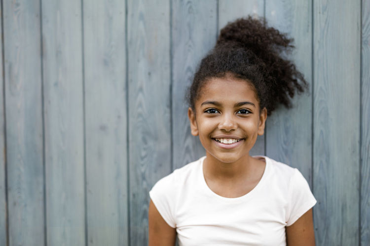 African American Beautiful Kids Adorable Cheerful Childhood Close-up Confidence  Cute Day Front View Happiness Looking At Camera Mulatto  One Person Outdoors People Portrait Real People Smiling