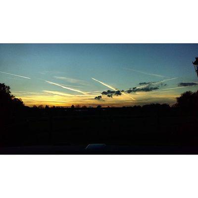 Sonnenuntergang Gestern Abend Bunt vollschön ☺😁