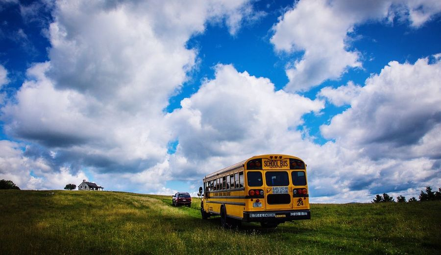 Country Road Enjoying Life Lifestyle Outdoors Rural Scene Rural Scenes Country Life Country Road School School Bus