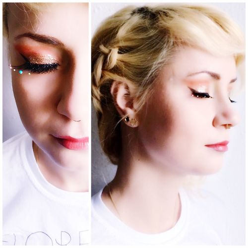 Make-up Young Women Lifestyles Blond Hair Beautiful Woman Fashion Model Beauty Human Face Women Fashion Headshot Picoftheday Hairupdo EyeEm Best Shots Hairstyle Hairdo One Woman Only EyeEm Makeupartist Portrait Make-up Colors Eyelash Zoeva Multi Colored