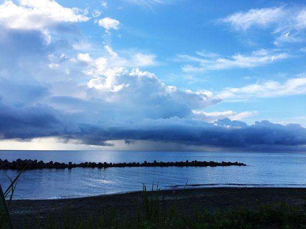 朝一 キャンプ お盆 Sea Sky Cloud - Sky Water Beauty In Nature Nature Scenics first eyeem photo