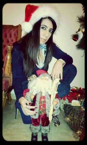 My Picture With Santa Claus Merry Christmas!