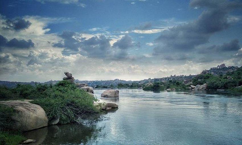 Hampi  Karnataka Incredibleindia Everydayindia Peoplescreatives Freedom Mind  Unleashed Spiritual Healing Heaven Lake Instaevening Instalike Instagood Instamood Instatravel Instatravel Theretrolabs