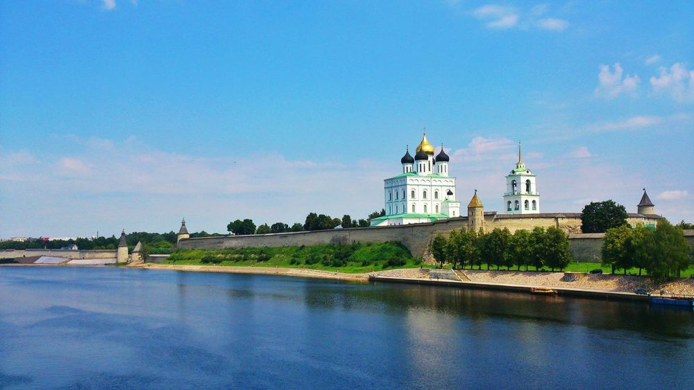 Pskov Russia Cathedral