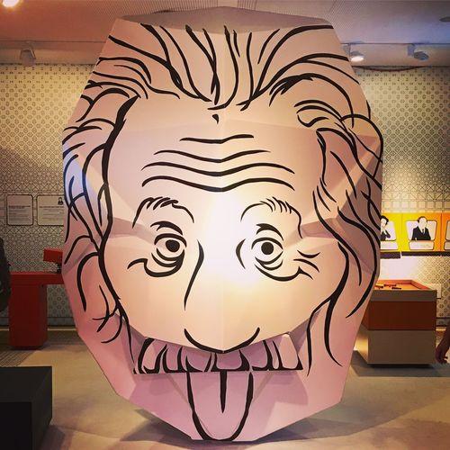 Einstein Indoors  No People Night