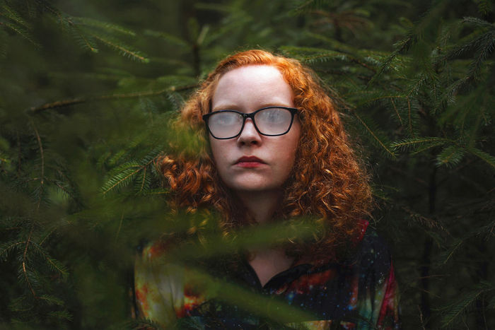 Kevin Ramolla Kevin Ramolla 50mm Girl Forest Portrait 50mm 1.4 Surreal Art Dark Nature Outdoors Photography Surreal Wood The Week On EyeEm