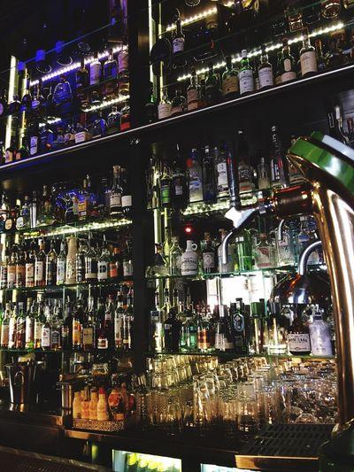 Bar Illuminated drink