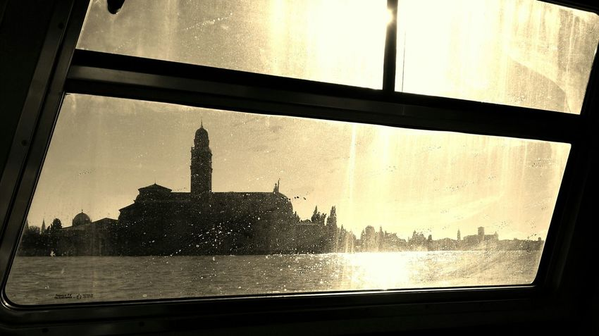 Die Ankunft Venedig Venezia Venice
