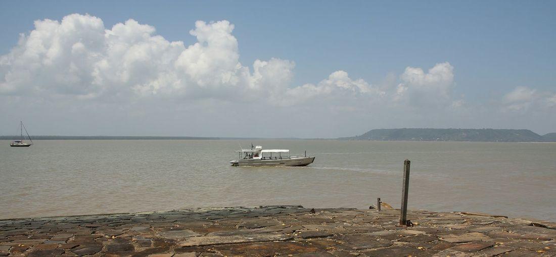 ile Ile La Mere Guyane Cayenne Bateau Mer