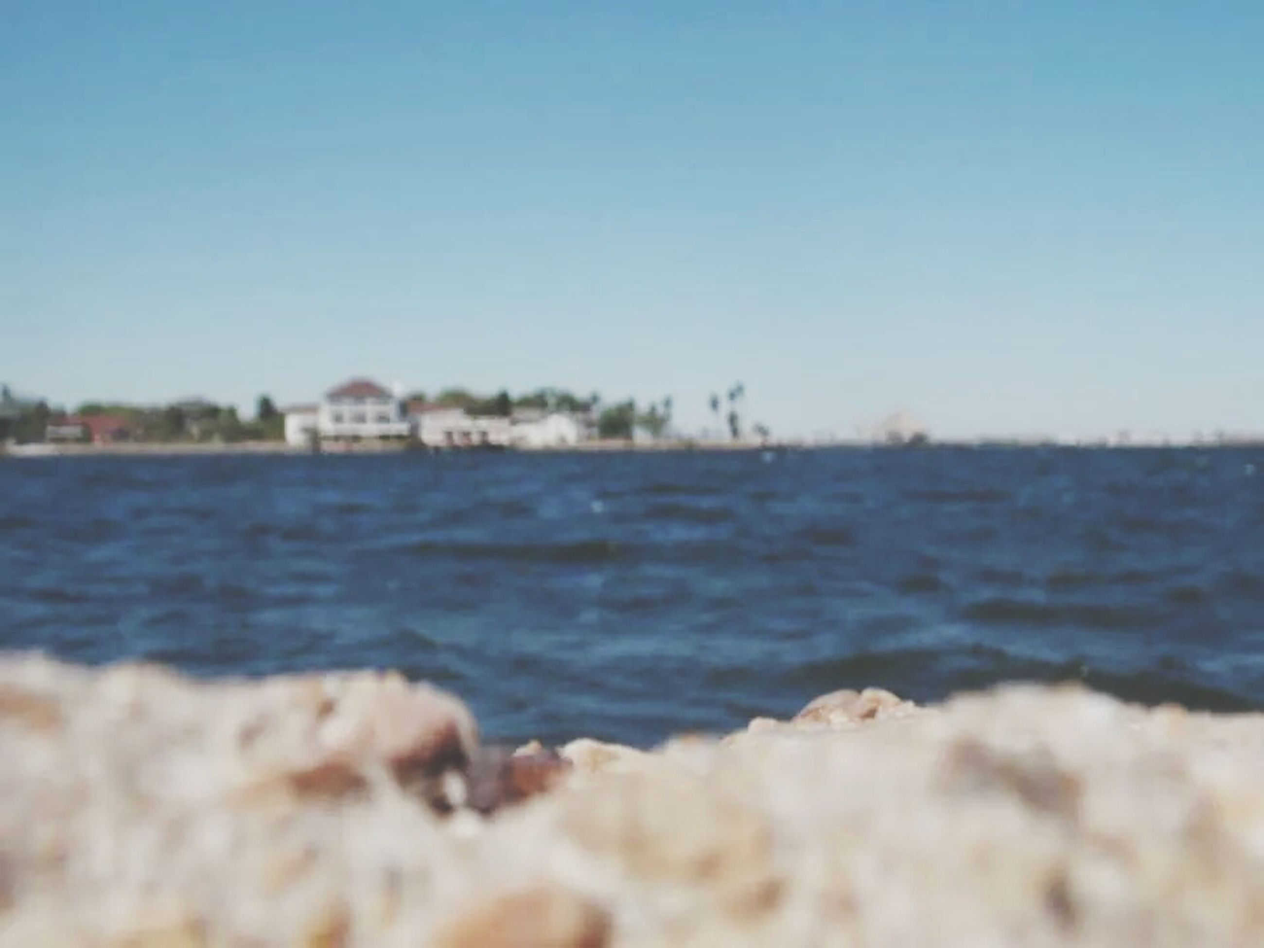 water, sea, clear sky, copy space, blue, scenics, wave, beauty in nature, tranquil scene, rippled, nature, tranquility, horizon over water, beach, day, shore, waterfront, outdoors, selective focus, surf