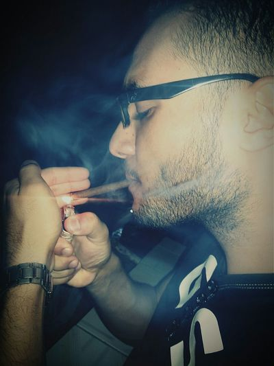 Smoke Smoker Dark Darkness Deep Deep Thoughts Ciggar Ciggarette Hello World OpenEdit