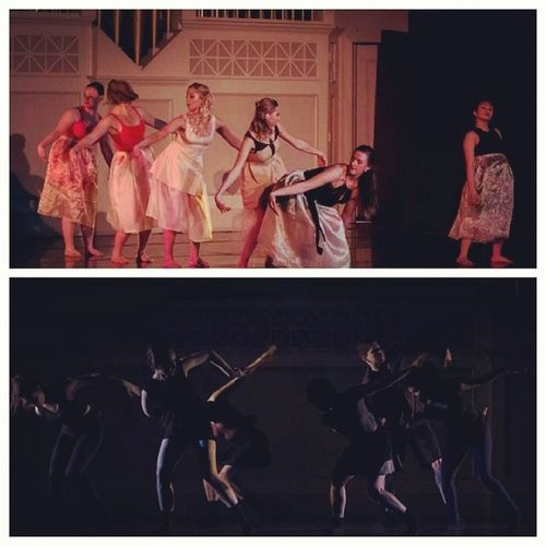 I just want to perform on stage again. EMUseniorproj Emudancers