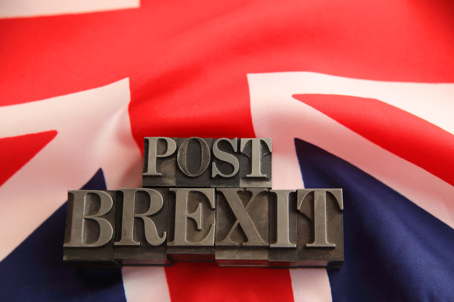 UK flag with metal post Brexit words Blue Brexit Close-up Communication Cross England, UK Eu European  Font Government Great Britain Metal Type Negotiations No People Patriotism Political Red Symbol Text Uk White Withdrawal Words