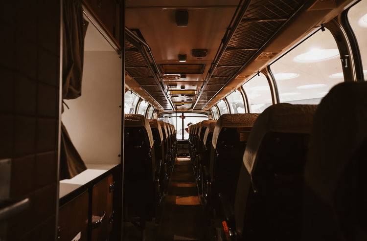 Commuter Train Day Indoors  Journey Land Vehicle Mode Of Transport No People Public Transportation Rail Transportation Subway Train Train - Vehicle Train Interior Transportation Travel Vehicle Interior Vehicle Seat Mobility In Mega Cities