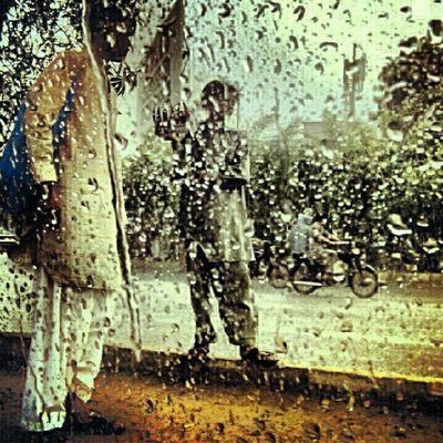 I love the effect of rain!