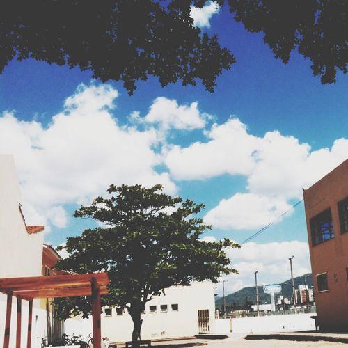 Bluesky Clouds Relaxing Landscape
