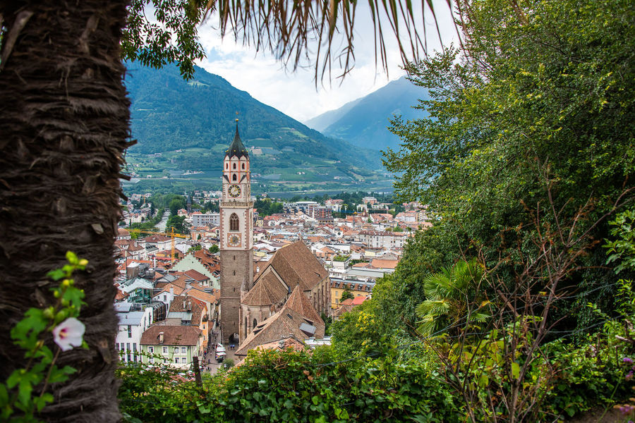 Alto Adige Church Architecture Building Building Exterior Built Structure City Day Italy Merano Nature No People Outdoors Place Of Worship Plant Religion South Tyrol Tree