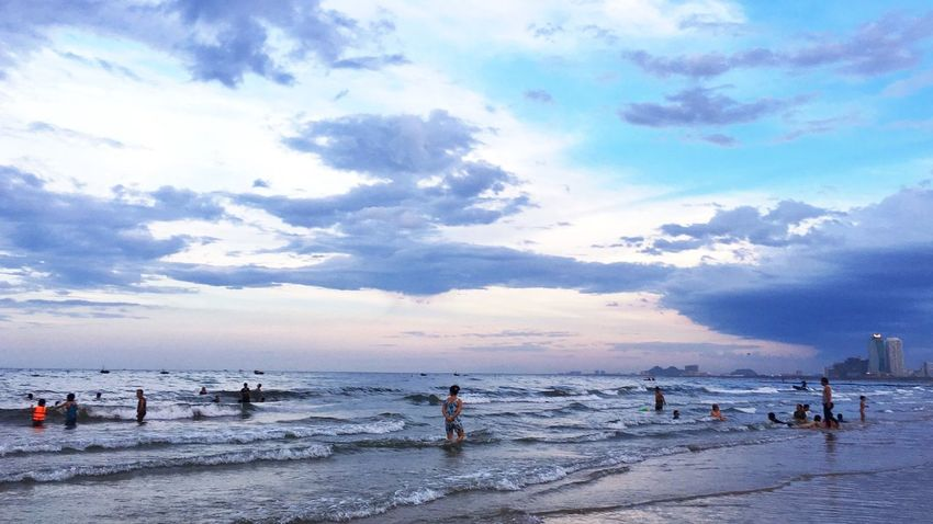 Danang, Vietnam Mykhebeach Travel Travel Photography Sky Beach Beauty In Nature Outdoors Vacations