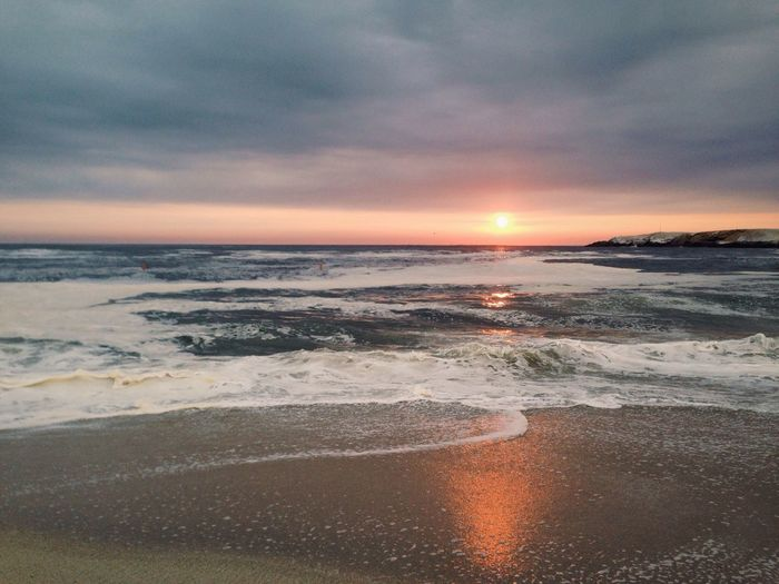 Beach PuntaHermosa Sun Sea Sunset