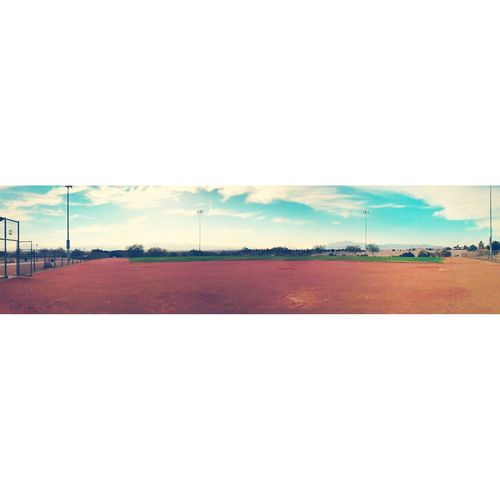 Panorama view of the field Baseball Field