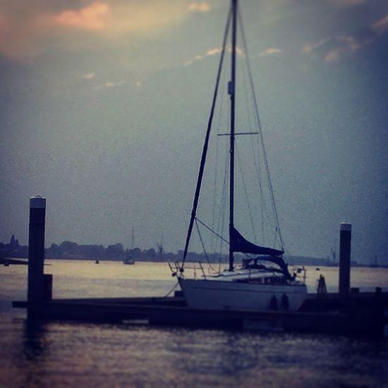 Yacht Boats Boat Dusk Sunset Water Beautiful EyeEm Best Shots Eye4photography  EyeEmBestPics