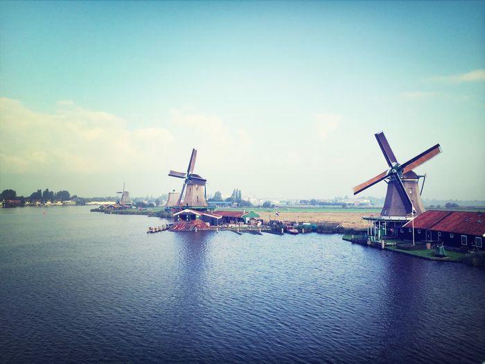 Windmills Zaanse_schans