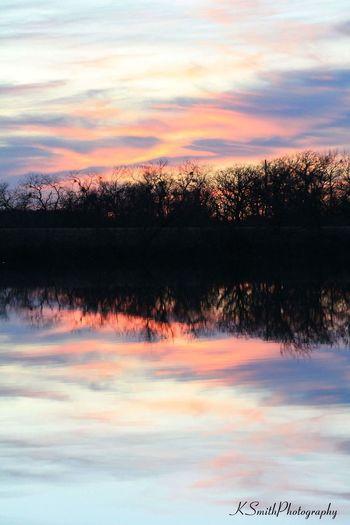 Lake Reflection Trees Water
