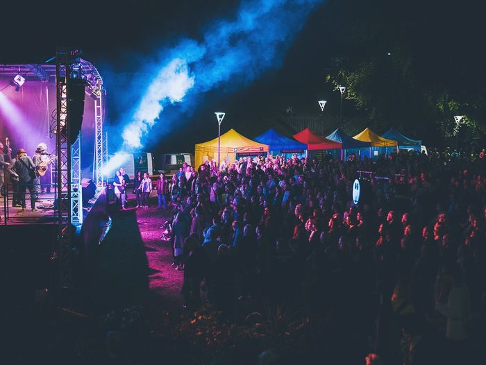TBT  Kulturnatten I Halmstad 2014 Concert Concert Photography Night Park Colors Lights Coloured Lights Stage Music Live Music Halmstad Kulturnatten