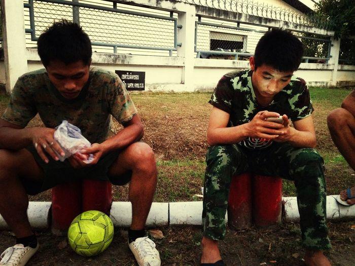 เล่นบอล~•_•~ First Eyeem Photo