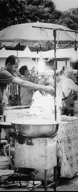 Street Vendors Bophut Fridays Samui_thailand