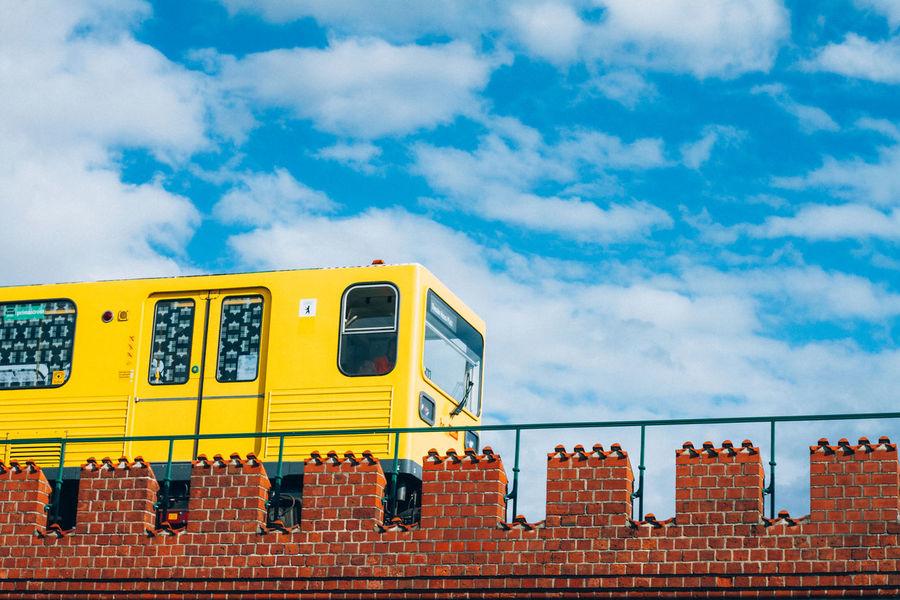 u bahn - best trainz Berlin BVG - Berliner Verkehrsgesellschaft Train U Bahn Warschauerbrücke