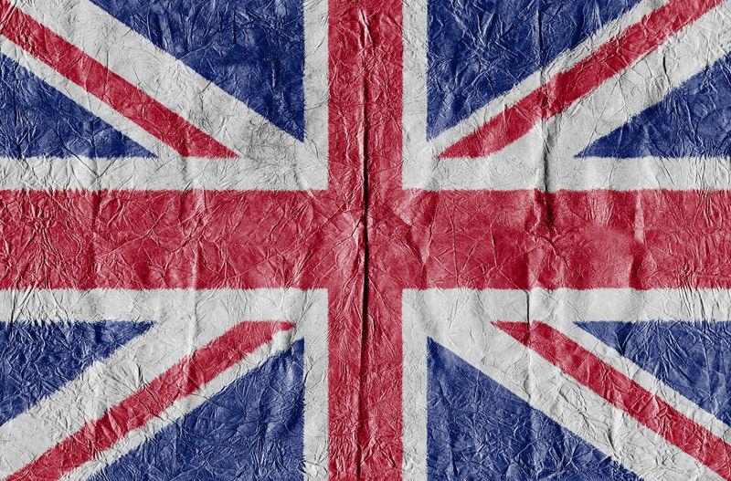 Full Frame Shot Of British Flag