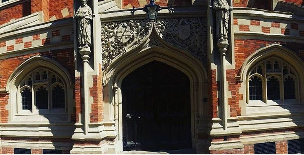 Architecture Built Structure Window Arch Door Religion History Church Outdoors Cambridge Cambridgeshire England EyeEm Eye4photography  Eyeem Architecture Lover