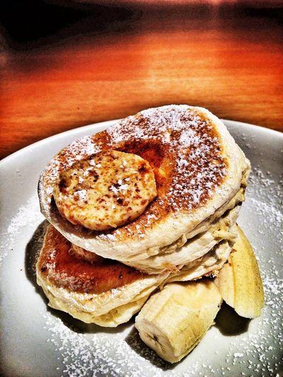 Yummy Eating Pancakes Love Pancake