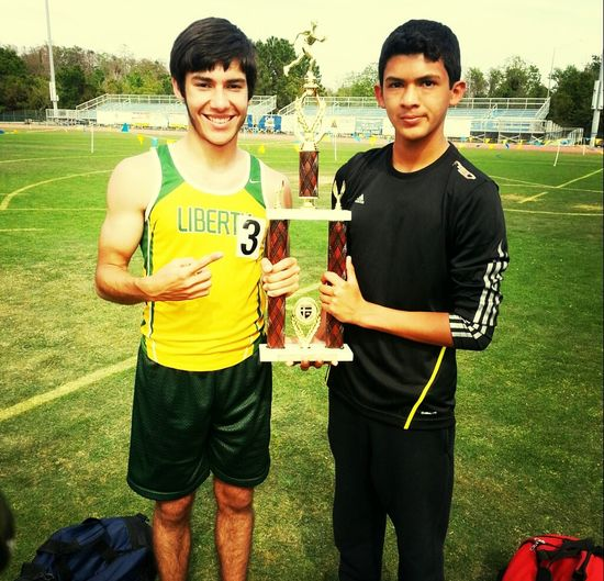 decided to run track this year:) #1st_place #distance_runner