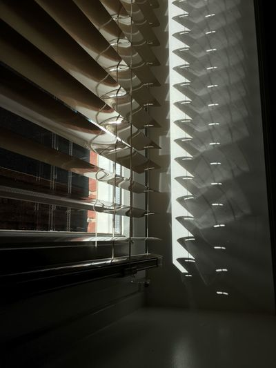 Indoors  Architecture No People Built Structure Day In A Row Building Blinds Pattern Nature Repetition Sunlight Window