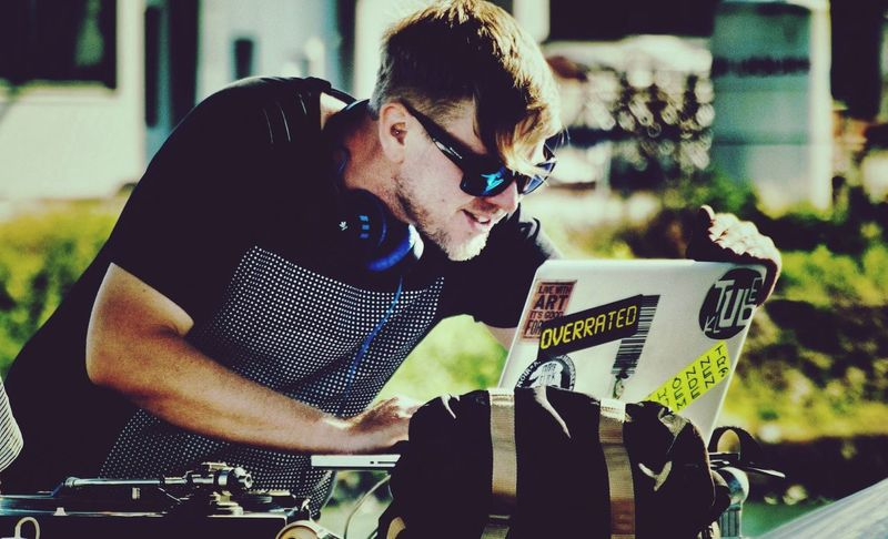 Dj Life Portrait The Portraitist - 2014 EyeEm Awards What Are You Listen To